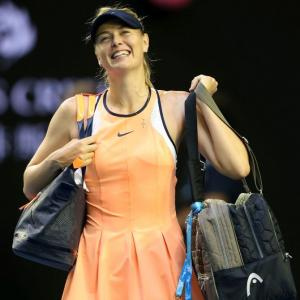 Sharapova re-dresses for success