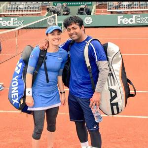 French Open: Sania-Dodig to face Paes-Martina in mixed doubles final