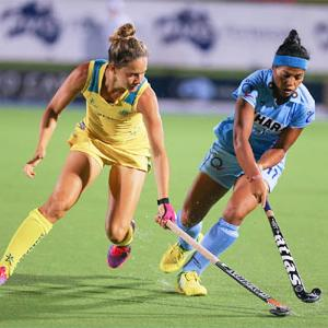 Four Nations Hockey: Indian eves lose 1-2 to Australia