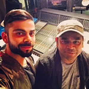 This is LEGENDARY! Kohli, AR Rahman work together for Premier Futsal