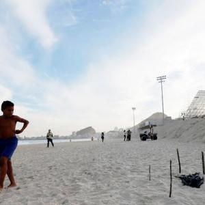 Body parts wash ashore next to Rio Olympic venue