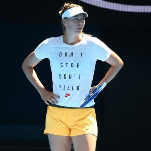 Sharapova may NEVER play again!