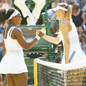Sharapova showed courage in taking responsibility, says Serena