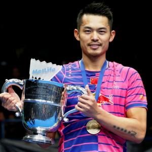 All England Badminton Championships: Lin Dan wins sixth title