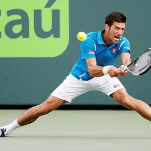 Miami Open: Djokovic moves into quarters; Halep ousted