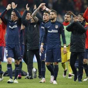 Champions League PIX: How Atletico dumped Bayern to reach final
