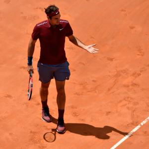 Thiem's up for beaten Federer in Rome