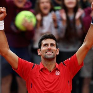 Italian Open: Djokovic fends off Nadal as Williams, Murray win
