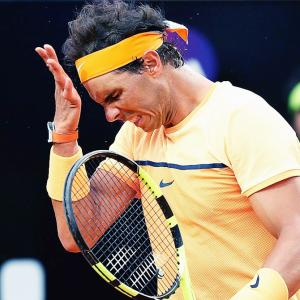 The saddest moment of Nadal's career was...
