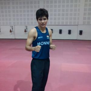 Sonia Lather storms into final of World Boxing C'ships
