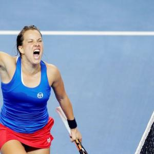 Fed Cup: Strycova beats Cornet to take tie into decider