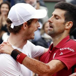 Fitting climax to the season as Murray takes on Djokovic in title clash