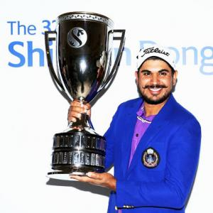 Indian golfer Bhullar ends long wait with win in Korea