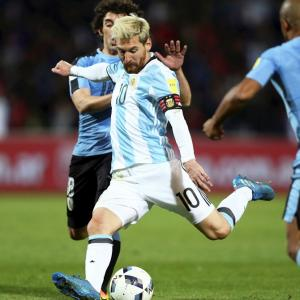 World Cup qualifiers: Messi goal puts Argentina top