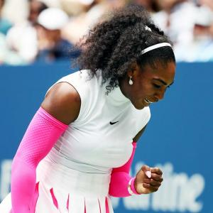 Serena Williams wins record 307th career Slam match