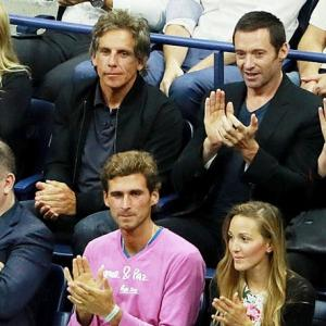 PHOTOS: Look who turned up at the US Open!