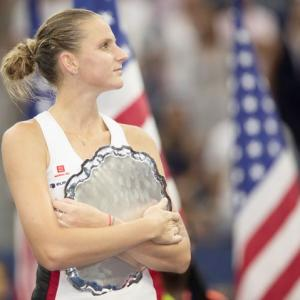 US Open: Aggressive style almost pays off for Pliskova