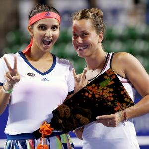 Sania-Strycova pair win Pan Pacific Open title