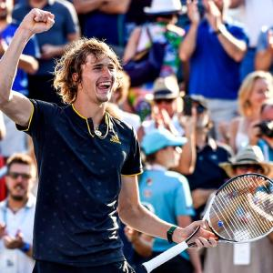 20-year-old Zverev stuns Federer in Montreal final