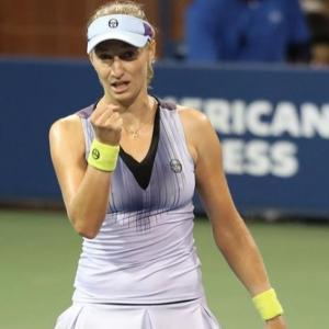 Upsets on Day 3 at US Open: Makarova shocks Wozniacki