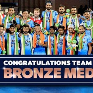 India edge past depleted Germany to reclaim bronze at HWL Final