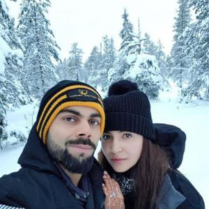 Super cute! Virat-Anushka share honeymoon picture