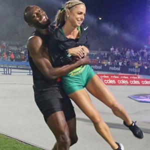 Bolt fires 'All-Stars' to Nitro Series win