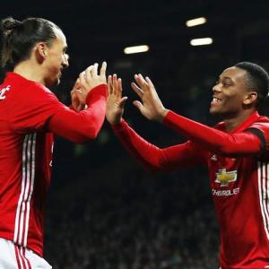 'Professional' Martial impresses Manchester United teammate Ibrahimovic