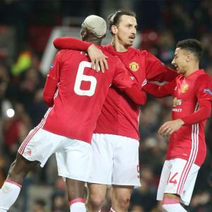 Ibrahimovic, Pogba, Rojo back from injury for United