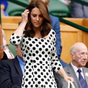Spotted! Kate Middleton at Wimbledon