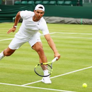 Low and slow Wimbledon grass makes 'Rafa as much a favourite as Federer'