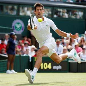 Wimbledon PHOTOS: Djokovic, Federer and Kerber advance