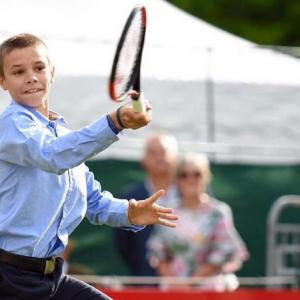 Beckham Junior to take up tennis?