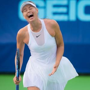 Sharapova reacts to criticism from Eugenie Bouchard & co