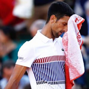 What is going on with Djokovic?