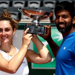 French Open: Bopanna wins mixed doubles for maiden Grand Slam title