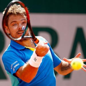 'Scary' Wawrinka is hot title threat