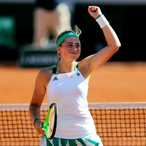 Quickstepping Ostapenko is a woman in a hurry