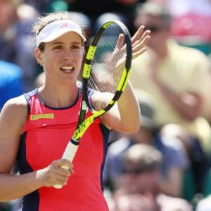 Konta through to quarter-finals in Nottingham