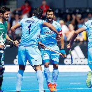 India thrash Pakistan yet again in Hockey World League Semis