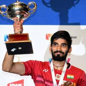 Srikanth overcomes stomach bug to win his 2nd successive title