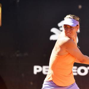 Sharapova ready to 'rise up again' after being left out of French Open