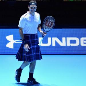 Like Roger Federer's new look?