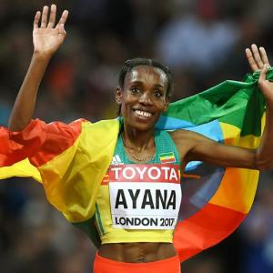 Ethiopia's Olympic champion Ayana loves Bollywood movies!