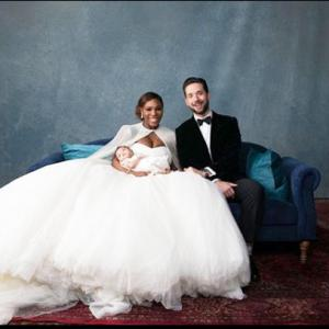 First Look: Serena Willams and Alexis Ohanian's fairy tale wedding