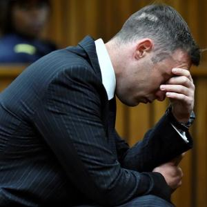 Pistorius murder sentence doubled to 13 years