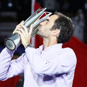 PHOTOS: Federer routs Nadal in Shanghai Masters final