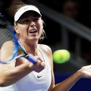 Sports Shorts: Sharapova loses to Rybarikova in Kremlin Cup return