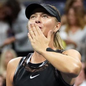 US Open: Sharapova hits back at Wozniacki
