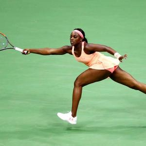 US Open finalist Stephens: From foot cast to walking on air